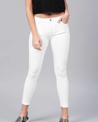 Women Slim Fit Jeans In Bhiwandi